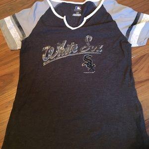 Large, White Sox, Shirt